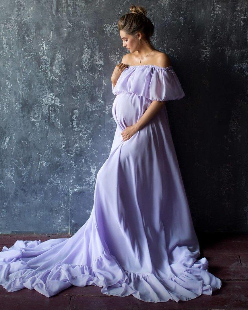 Глафира Тарханова во время беременности