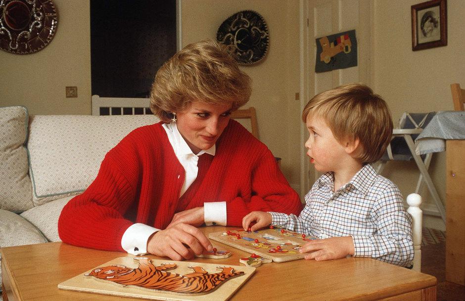 Принцесса Диана ипринц Уильям, 1985 год