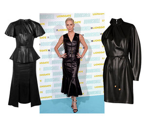 Как у Шарлиз Терон: 10 сексуальных кожаных платьев от 1500 рублей