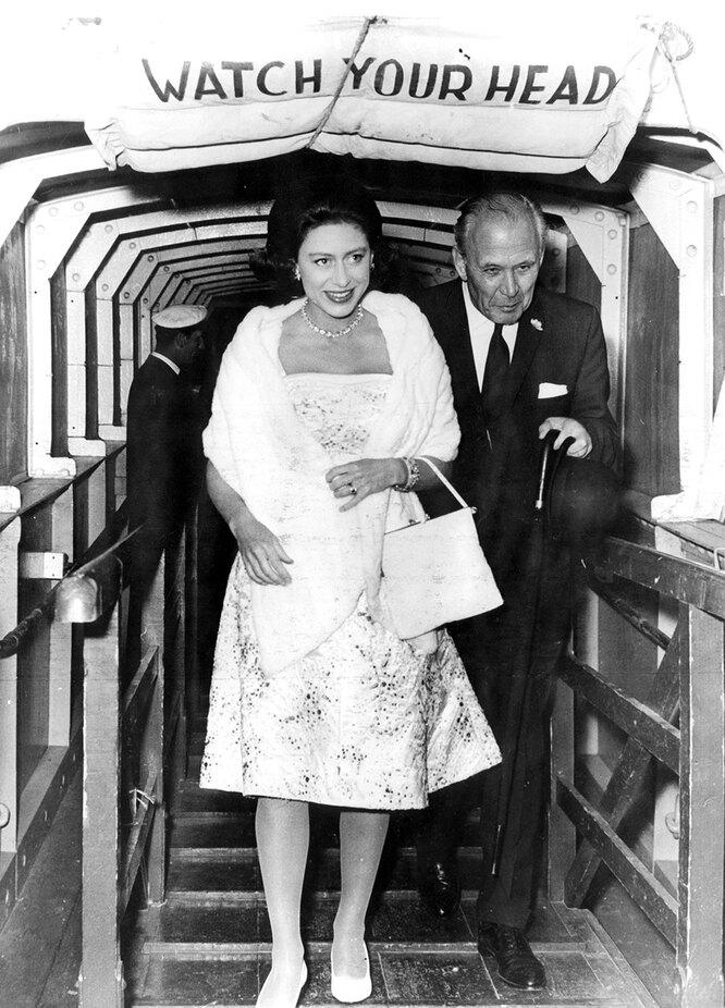Принцесса Маргарет в 1962году
