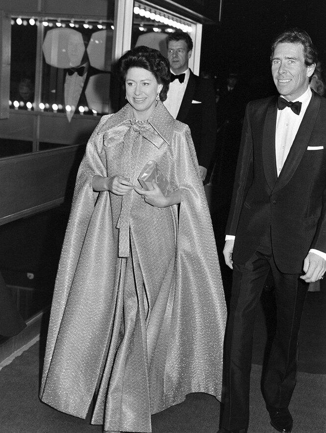 Принцесса Маргарет в 1975году