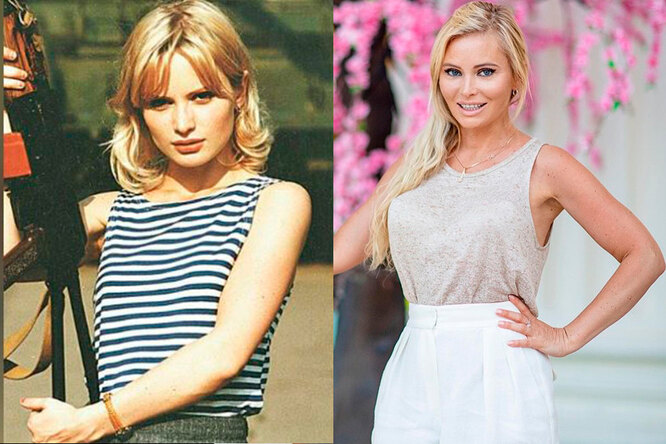 Дана Борисова тогда и сейчас