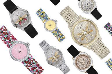 Все набал: новые ювелирные часы Dior