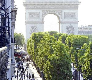 В Hôtel Barrière Le Fouquet's Paris появятся сьюты свидом наЕлисейские поля