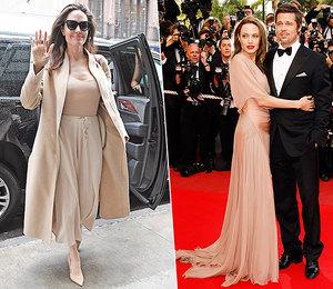 Повторяем за звездой: воссоздаем 3 ярких образа Анджелины Джоли в бежевых тонах