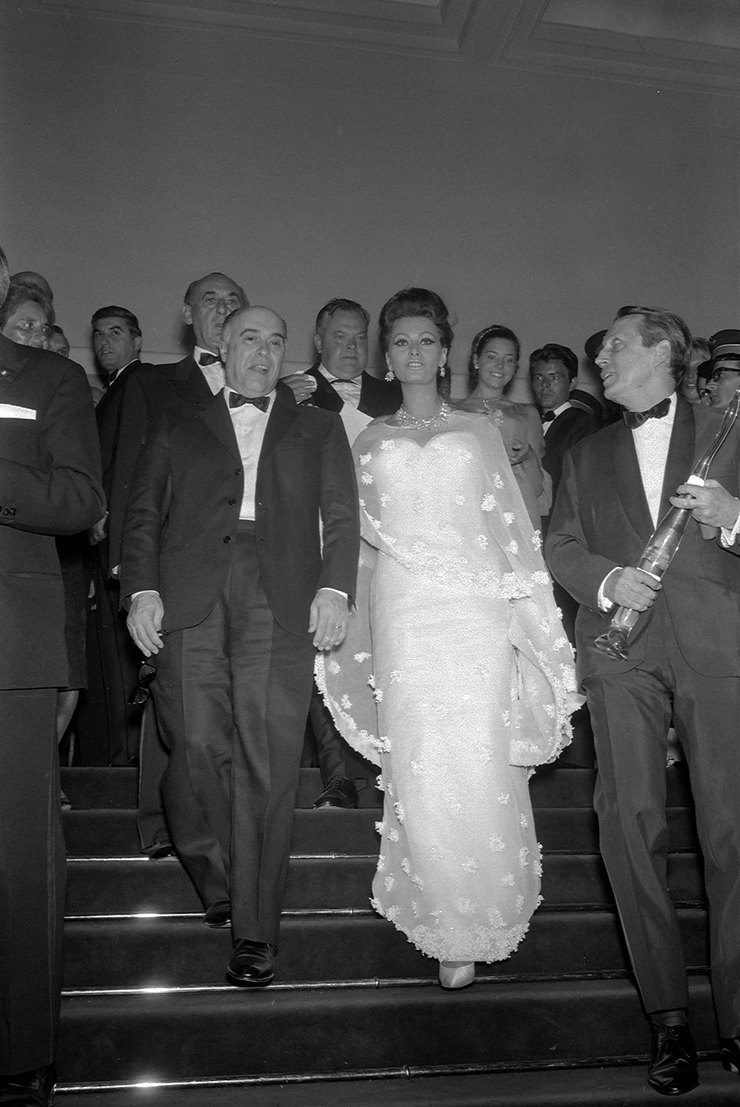 Свадьба Софи Лорен иКарло Понти, 1966