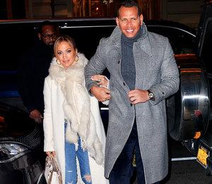 Джей Ло и Алекс Родригес впервые после помолвки показались в Нью-Йорке