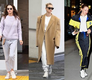 5 доказательств от голливудских звезд, что спортивные штаны могут выглядеть стильно