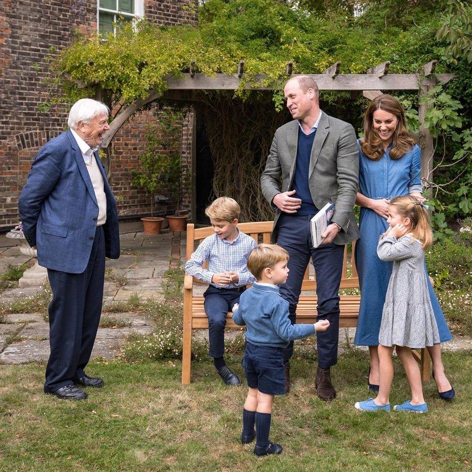 Принц Уильям и Кейт Миддлтон поделились редким семейным снимком   Журнал GraziaMagazine