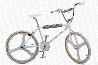 Если вдетстве вам некупили велосипед, берите BMX отDior Men иBogarde