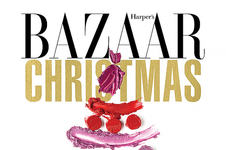 Christmas Beauty Day by Harper's Bazaar