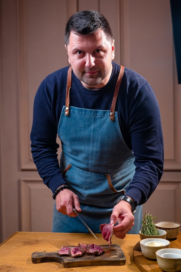 Алексей Подлесных, шеф-повар группы ресторанов Урюк