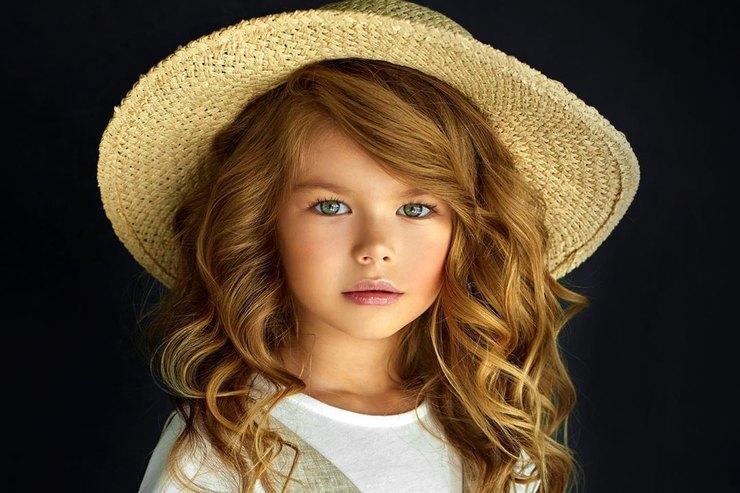 «Самой красивой девочкой вмире» назвали шестилетнюю россиянку
