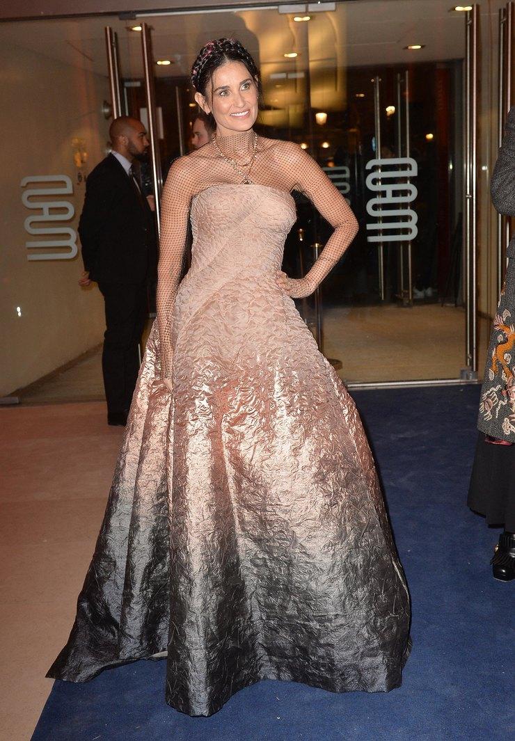 Деми Мур наDоner de gala international, 2020 год