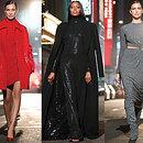 Мини VS макси: Ирина Шейк, Наоми Кэмпбелл иБелла Хадид устроили модную битву напоказе Michael Kors