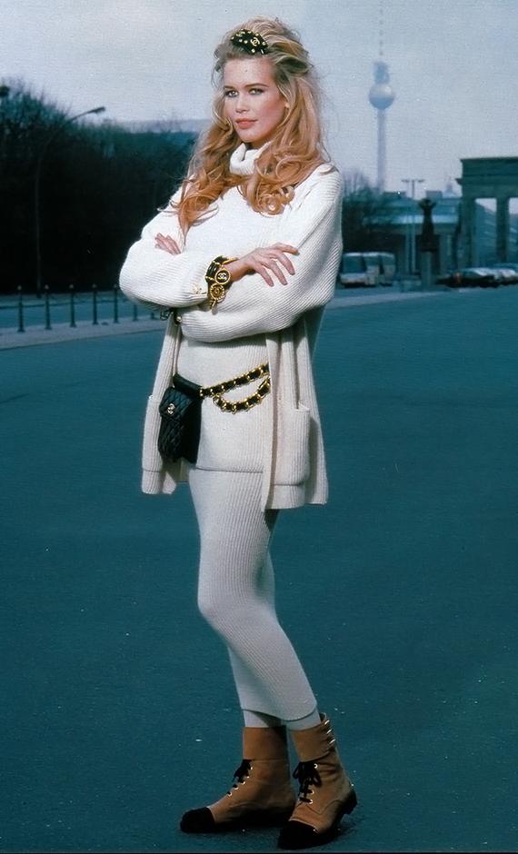 фото знаменитых моделей Клаудия Шиффер