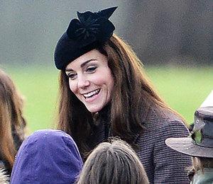 Кейт Миддлтон, принц Уильям и королевская семья посетили церковную службу