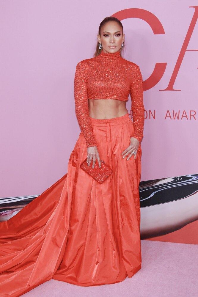 Дженнифер Лопес на CFDA Awards в 2019 году