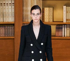 Ставка на интеллект:  показ Chanel Couture осень-зима 2019