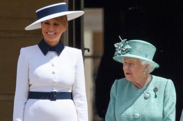 Мелания Трамп вдохновилась образом принцессы Дианы