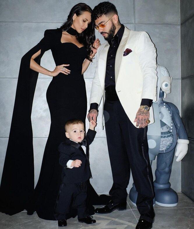 Анастасия Решетова и Тимати с сыном