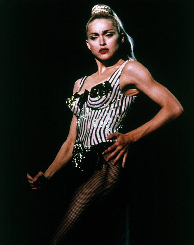 Мадонна в 1991 году
