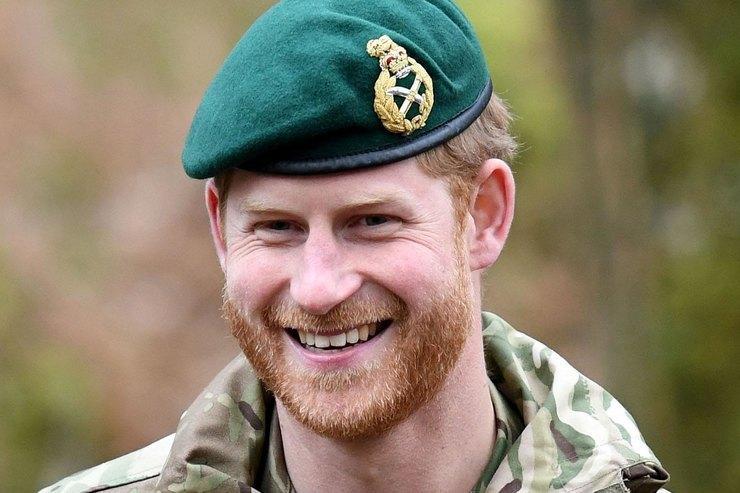 Принц Гарри девять лет служил вВооруженных силах