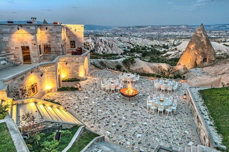 Museum Hotel Каппадокия приглашает гостей полюбоваться фантастическим видом