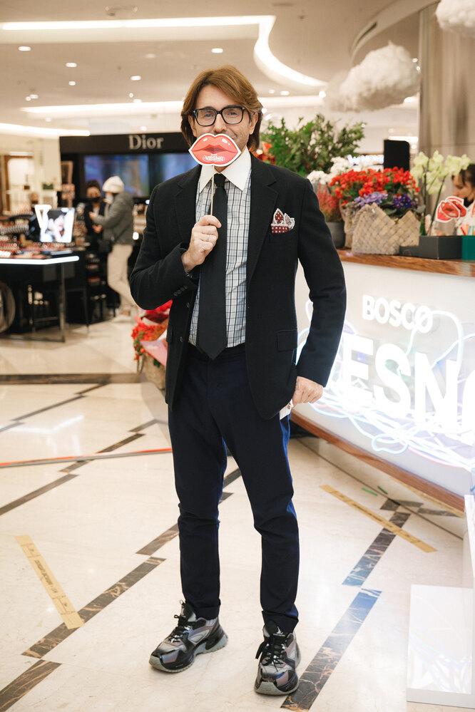 """Андрей Малахов на празднике красотыArticoli""""Воздушное настроение"""""""