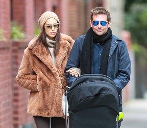 Маленькая модница: дочь Ирины Шейк и Брэдли Купера выгуливает шапку Versace