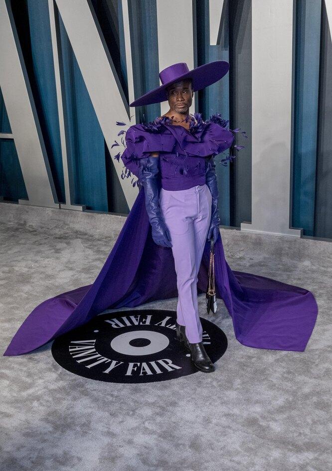 Билли Портер в 2020 году на вечеринке Vanity Fair