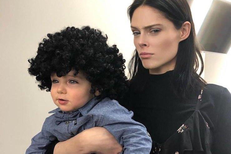 Коко Роша надела парик нагодовалого сына