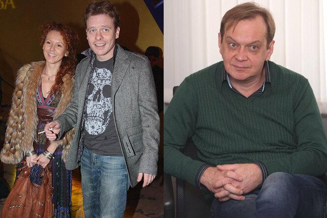 Павел Майков с женой и Михаил Горевой