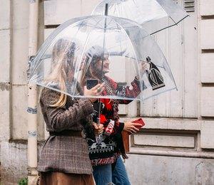 Какой зонт выбрать, чтобы он стал неотъемлемой частью демисезонного образа