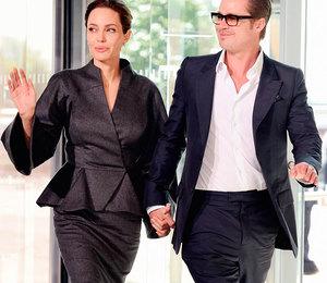 Анджелина Джоли и Брэд Питт скрываются!