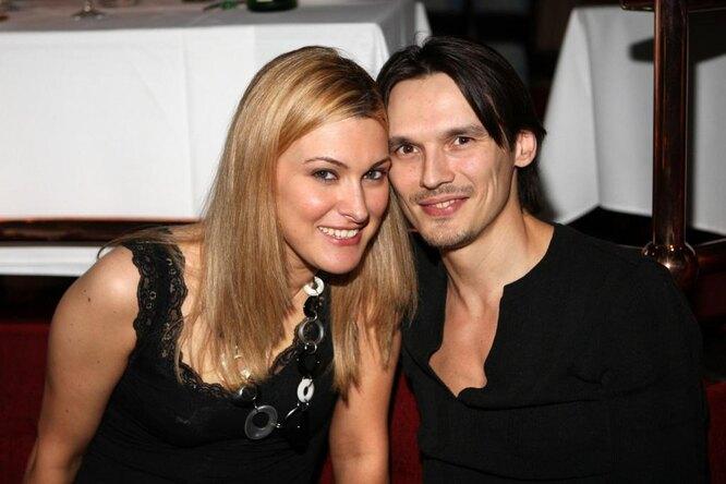 Влад Сташевский с женой