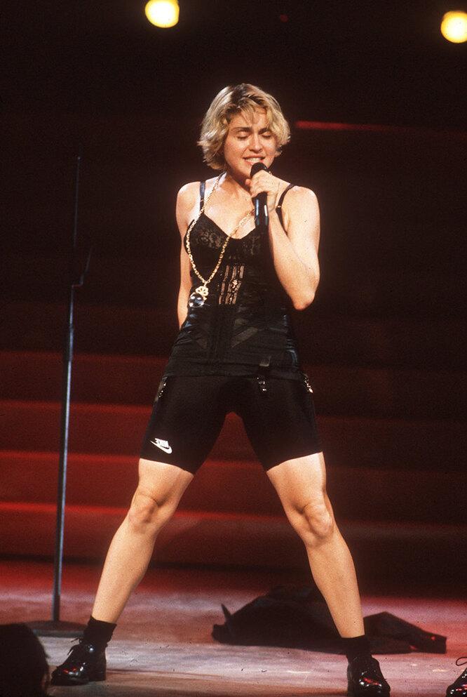 Мадонна в 1989 году.