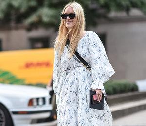 Романтичные платья собъемными рукавами — горячий тренд Недели моды вНью-Йорке