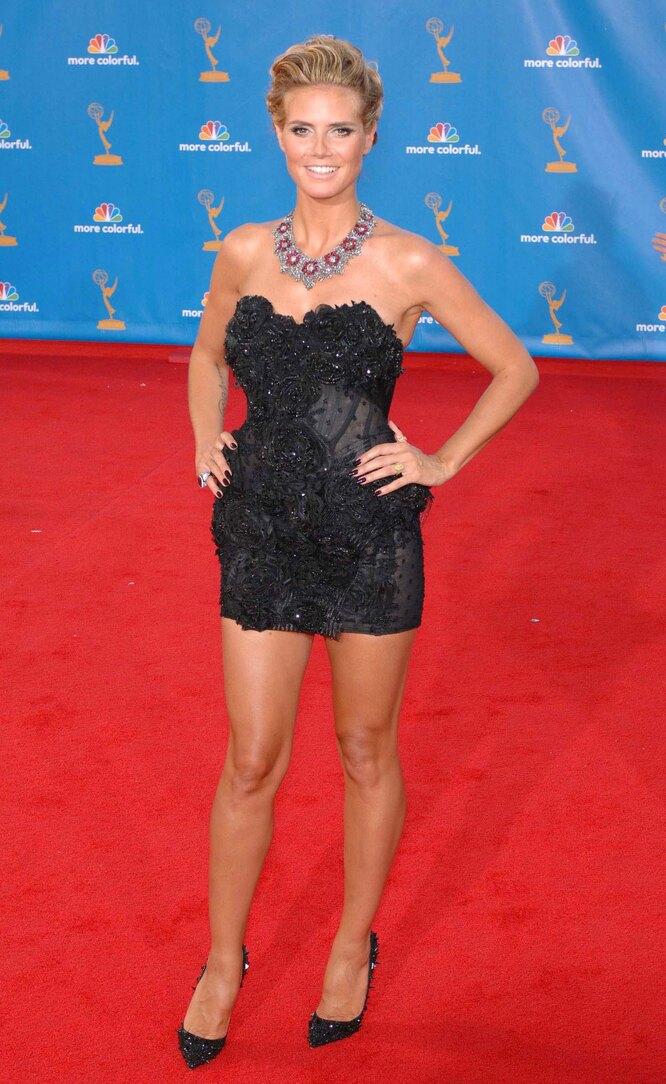 Хайди Клум, 2010, International Emmy Awards