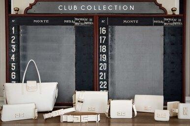 Закрытый клуб: новая коллекция сумок The Club Elisabetta Franchi
