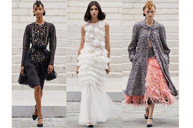 Французская свадьба! 37 идеальных нарядов дляторжества изкутюрной коллекции Chanel
