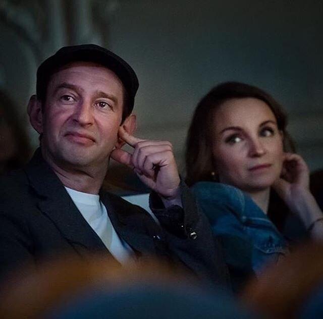 Хабенский с женой