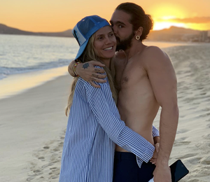 45-летняя Хайди Клум сообщила о помолвке с 29-летним Томом Каулитцем