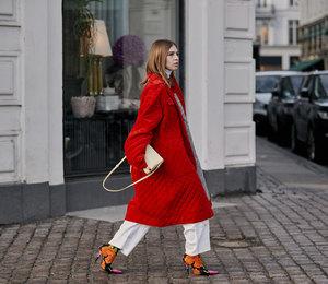 Скандинавские модницы показывают, как не банально одеваться в красный