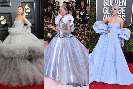 Как принцесса: 10 звездных выходов накрасную дорожку всамых красивых пышных платьях
