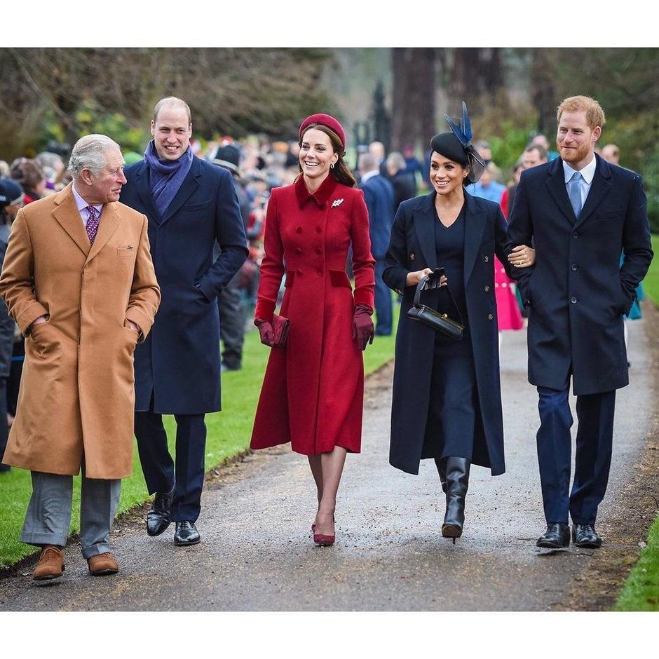 Принц Чарльз, герцоги Кембриджские игерцоги Сассекские