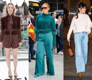 5 универсальных свитеров, которые выбирают Дженнифер Лопес, Шарлиз Терон и другие знаменитости