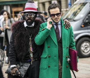 Неделя моды в Милане осень-зима 2015/2016: street style.