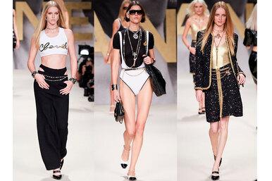 Кожа, пайетки и, конечно же, твид: новая коллекция Chanel создана длятех, кто хочет все исразу