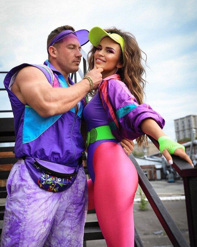 Надин Серовски с мужем